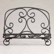 427357_BLACKIRONCOOKBOOKHOLDER_<br /><br /><br /><br /><br /><br /><br /><br /> FRONT