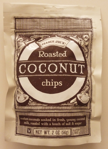 Roasted Coconut Chips front