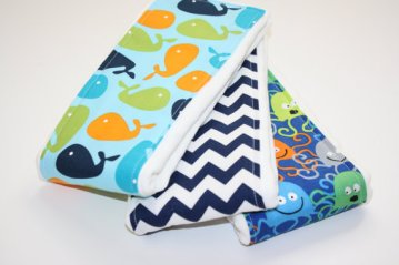 Whale burp cloths