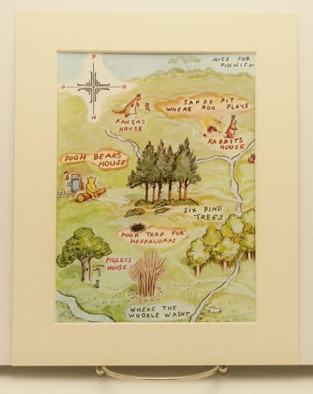 Winne the Pooh map