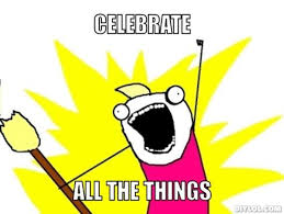 celebrate all the things