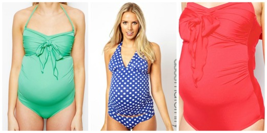 Bright Maternity Swimsuit